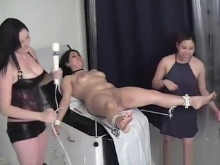 Bound at the doctor's dungeon