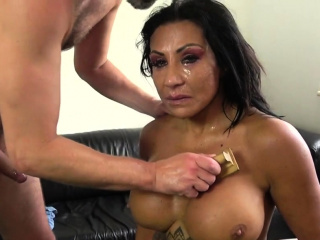 Ass fingered and spanked fetish milf