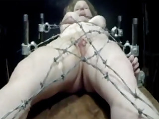 Barbed wire bondage