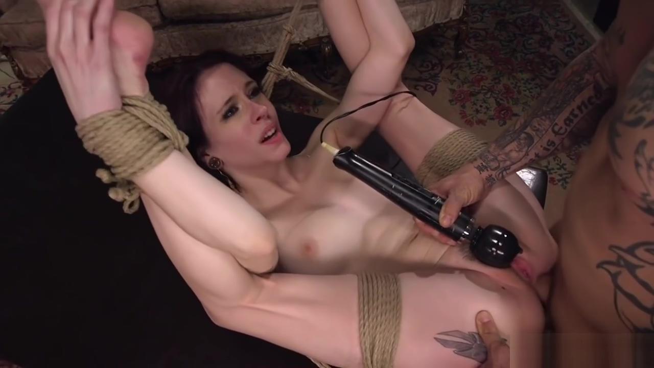 Skinny brunette anal bdsm banged