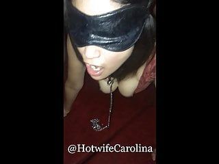 Cuckold Hotwife Carolina  gangbanged by everybody at a club