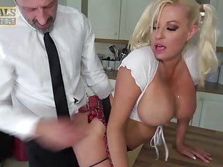 PASCALSSUBSLUTS - Busty Schoolgirl Michelle Thorne Dominated