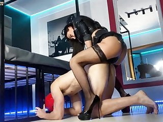 Evil Woman - Evil stepsister pegging and blackmail