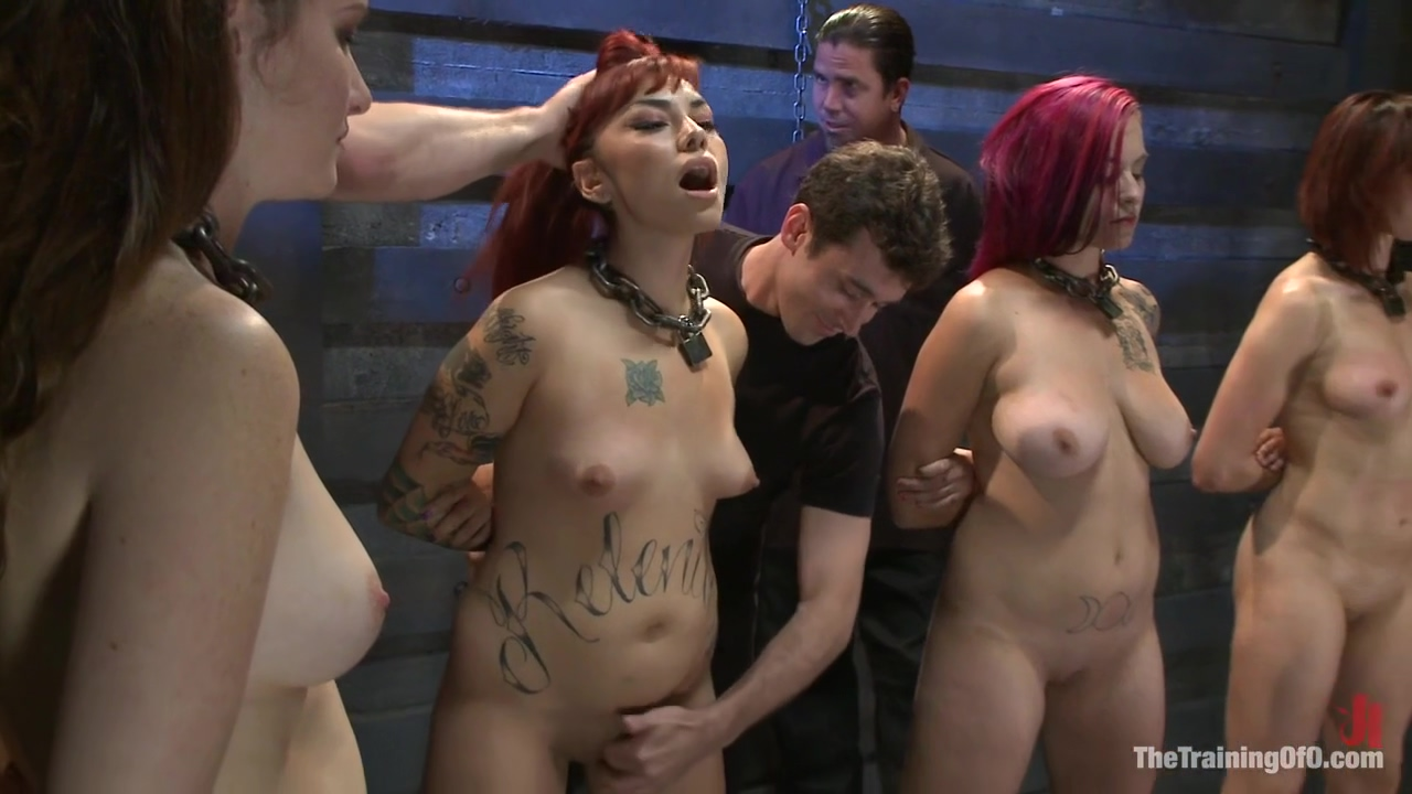 Bdsm Group Session With Four Submissive Sluts And Two Masters