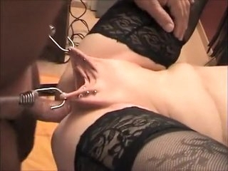 Incredible amateur Close-up, BDSM porn clip