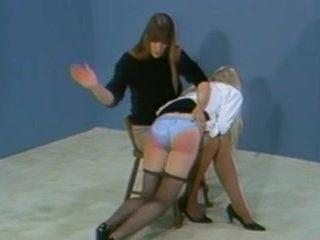 A good hard OTK spanking